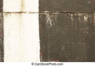 muur, -, black , streep, achtergrond, witte