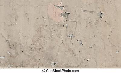 muur, grijs, stucco, textuur