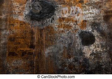 muur, grunge, achtergrond