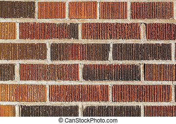 muur, multi, baksteen, achtergrond, gekleurd