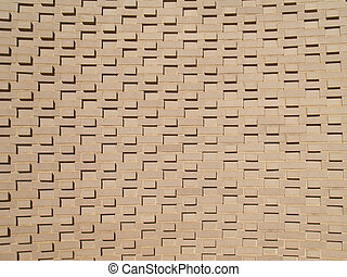 muur, multi-layered, baksteen