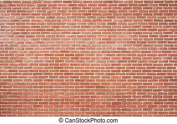 muur, nieuw, baksteen, textuur