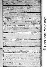 muur, oud, hout, natuurlijke , textuur