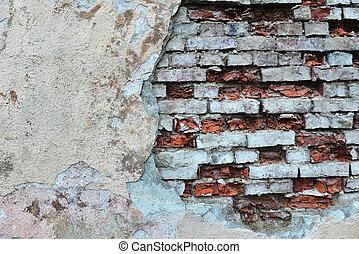 muur, oud