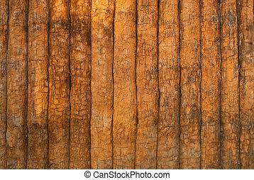 muur, ouderwetse , hout, texture.
