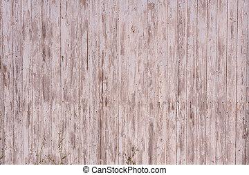 muur, plank, verticaal