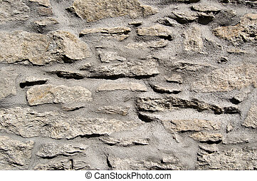 muur, steen, cement