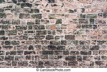 muur, steen, historisch