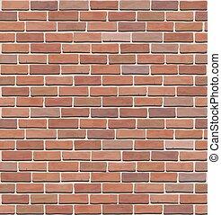muur, textuur, baksteen