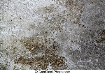 muur, verweerd