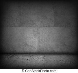muur, vloer