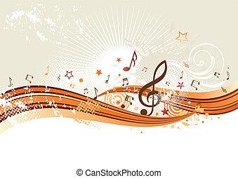 muziek, achtergrond