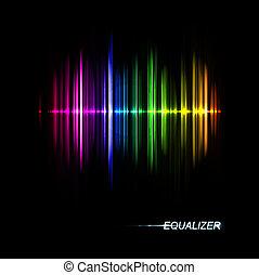 muziek, equalizer