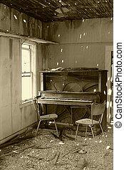 muziek, gestopt