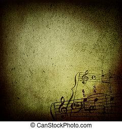 muziek, grunge, achtergronden