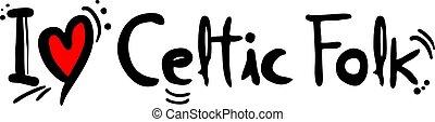 muziek, keltisch, liefde, folk-music