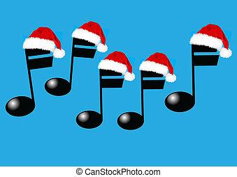 muziek, kerstmis