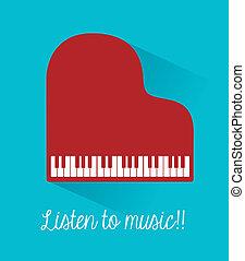 muziek, ontwerp
