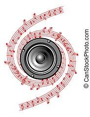 muziek, pictogram