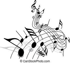 muziek, thema