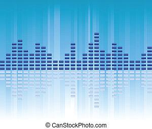 muziek, volume