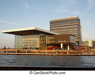 Muziekgebouw office building - Amsterdam, capital of Holland