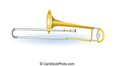 muzikaal instrument, trombone