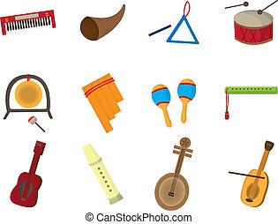 muzikalisch, spotprent