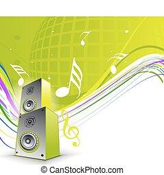 muzikalisch, thema