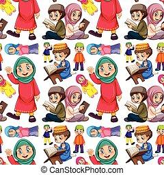 muzulmán, seamless