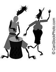 muzycy, afrykanin