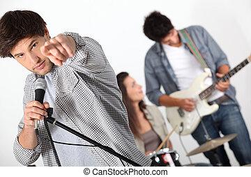 muzycy, grupa