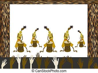 muzyczny, afrykanin