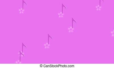 muzyczny, tło