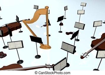 muzyczny, zbiór