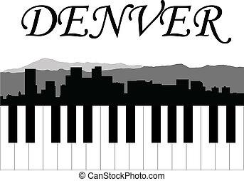 muzyka, denver
