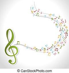 muzyka, design.