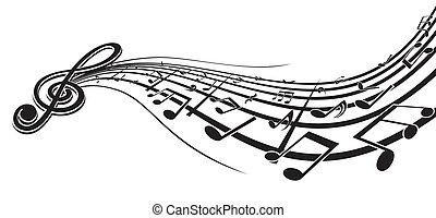 muzyka, element