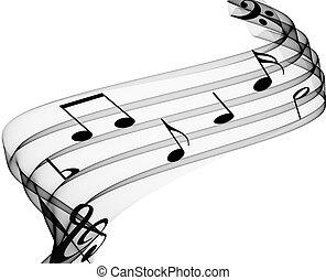 muzyka notatnik
