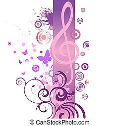 muzyka, projektować