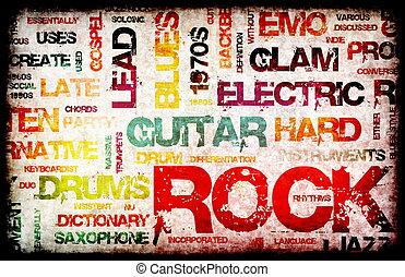 muzyka, skała