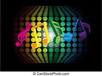 muzyka, tło