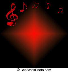 muzyka, valentine