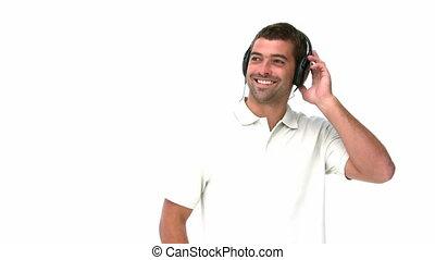 muzykować słuchanie, człowiek