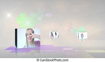 muzykować video, nastolatki, interpretacja