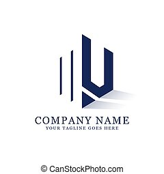 Nv Negative Space Logo Designs Creative Logo Inspiration N V