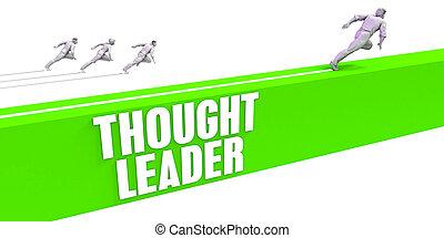 myśl, lider