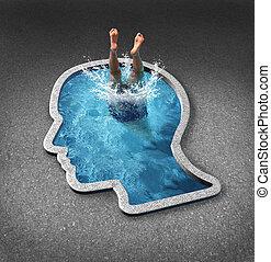 myślenie, głęboki