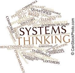 myślenie, systemy