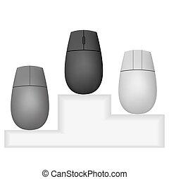 myš, vektor, design, tvůj